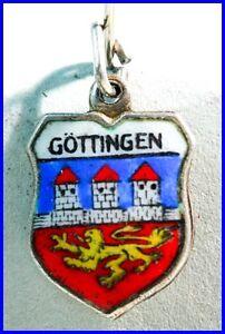 Ketten Herrenschmuck Bettelarmband/ Anhänger/ Wappen/ Silber/ Glücksbringer/ Enamel Charm/ GÖttingen Vertrieb Von QualitäTssicherung