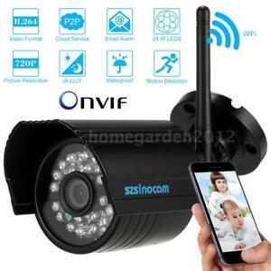 Wireless-CCTV-Aussen-720P-Uberwachungskamera-mit-IR-Nachtsicht-Wasserdicht-F8Z9