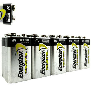 10-x-Energizer-9V-batteries-Industrial-6LR61-Block-PP3-6LP3146-MN1604-EXP-2021