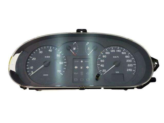Bloc Compteurs Vitesse  Renault Scenic I 8200071811 4809