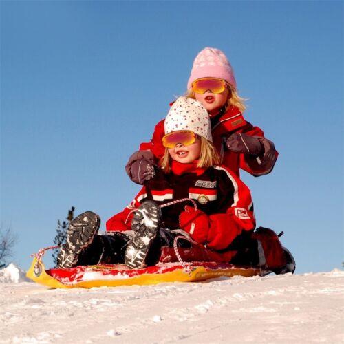 Ski Snowboard Snowmobile Frameless Goggles Magnet Anti-fog Protection Lens   HOT