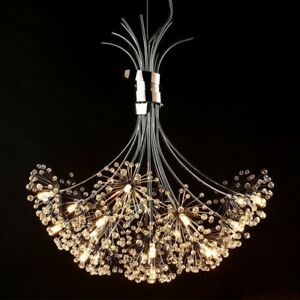 Modern-Dandelion-LED-Crystal-Chandelier-Pendant-Lamp-Ceiling-Lights-Lighting-New