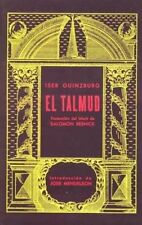 2 El Talmud (spanish Edition) by Iser Guinzburg Berbera Edit