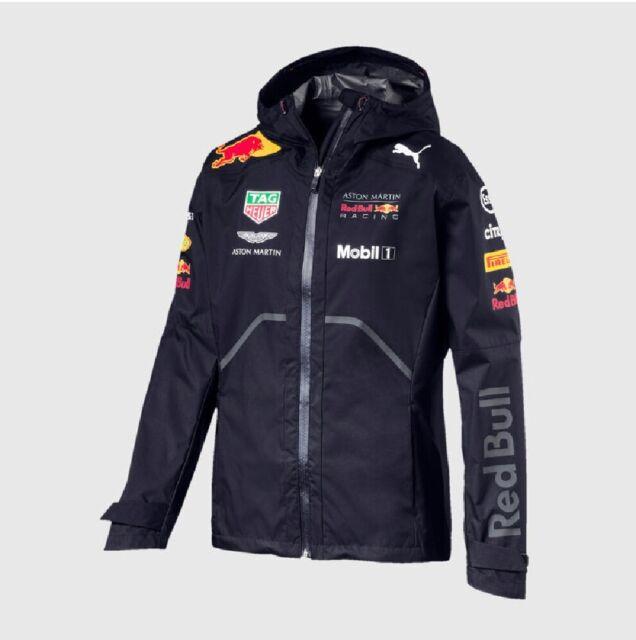 JACKET Rain Coat Aston Martin Red Bull Racing Formula 1 One Mens PUMA US