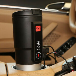 410-ML-Coffee-Maker-Milk-Tea-Car-Electric-Kettles-Car-Cup-12V-Black-Universal