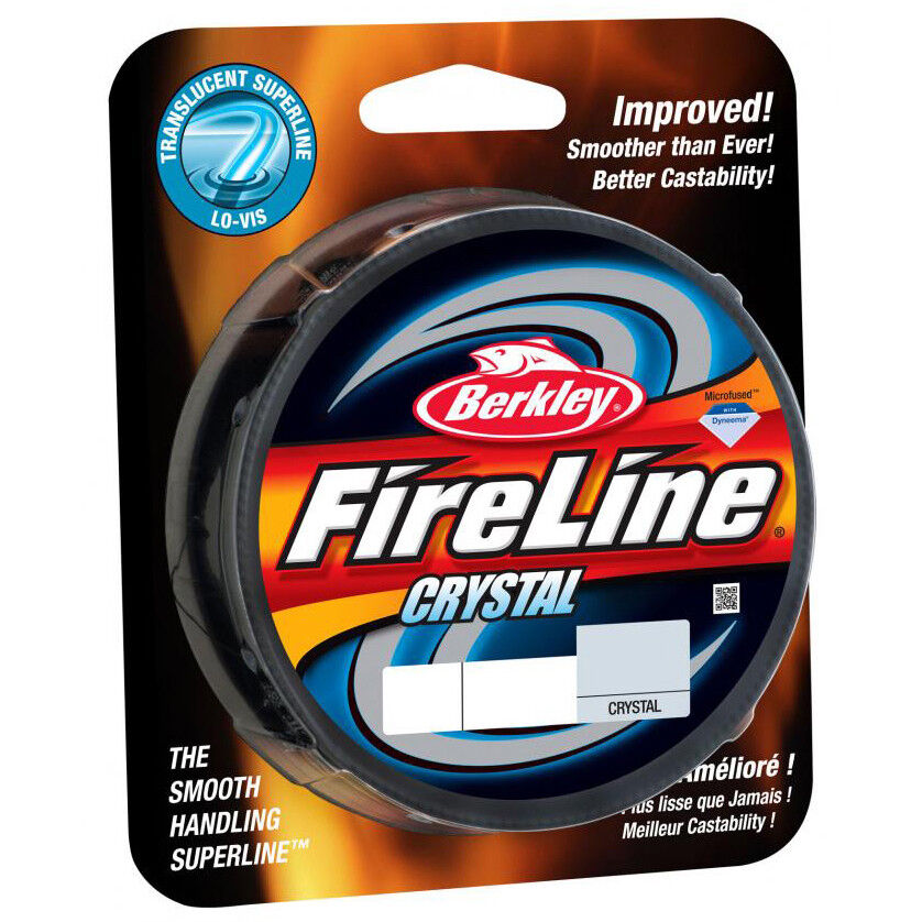 Berkley FireLine Fused Crystal Fishing Line (300 yds) - 8 lb Test