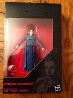 Star Wars Black General Princess Leia Organa Walmart Exclusive Carrie Fisher
