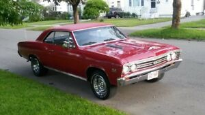 1967 chevelle ss396  Canadian True 138 code For Sale
