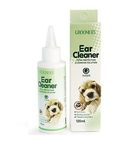 Dog Ear Cleaner Groomers Pet Clean Safety Silicon 120ml Puppy Health