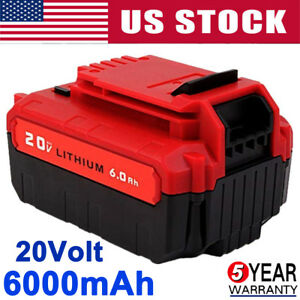6-0Ah-20V-PCC685L-Battery-for-Porter-Cable-Max-Lithium-Ion-PCC680L-PCC600-PCC640