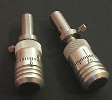 Fine Micrometer Head Ball End 02mil Resolution X 10mil Range