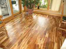 Prefinished Solid Blonde Asian Walnut Acacia Wood Hardwood Floor Flooring Sample