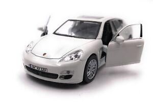 Porsche-Modellino-Auto-con-Richiesta-Caratteristiche-Panamera-S-BEIGE-Scala-1-3