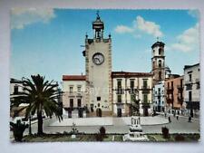 TERLIZZI Piazza Covour Torre Orologio Bari vecchia cartolina