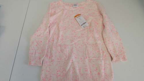 GYMBOREE Play By Heart Sweater Dress Pink w//Flecks Size 4 XS 10-12 L  NEW
