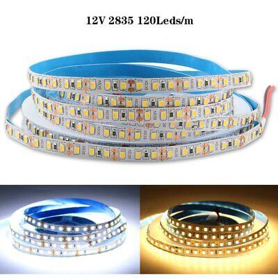 12V LED SMD 2835 Streifen Stripe Warm Kalt weiss Leiste Band dimmbar 120LEDs//M