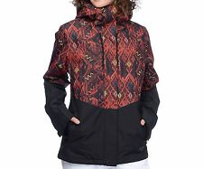 BILLABONG Women's AKIRA Printed Snow Jacket - KET - Small - NWT