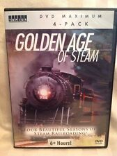 Golden Age of Steam (DVD, 4-Disc Set) Four Seasons Of Railroading! Trains! B15