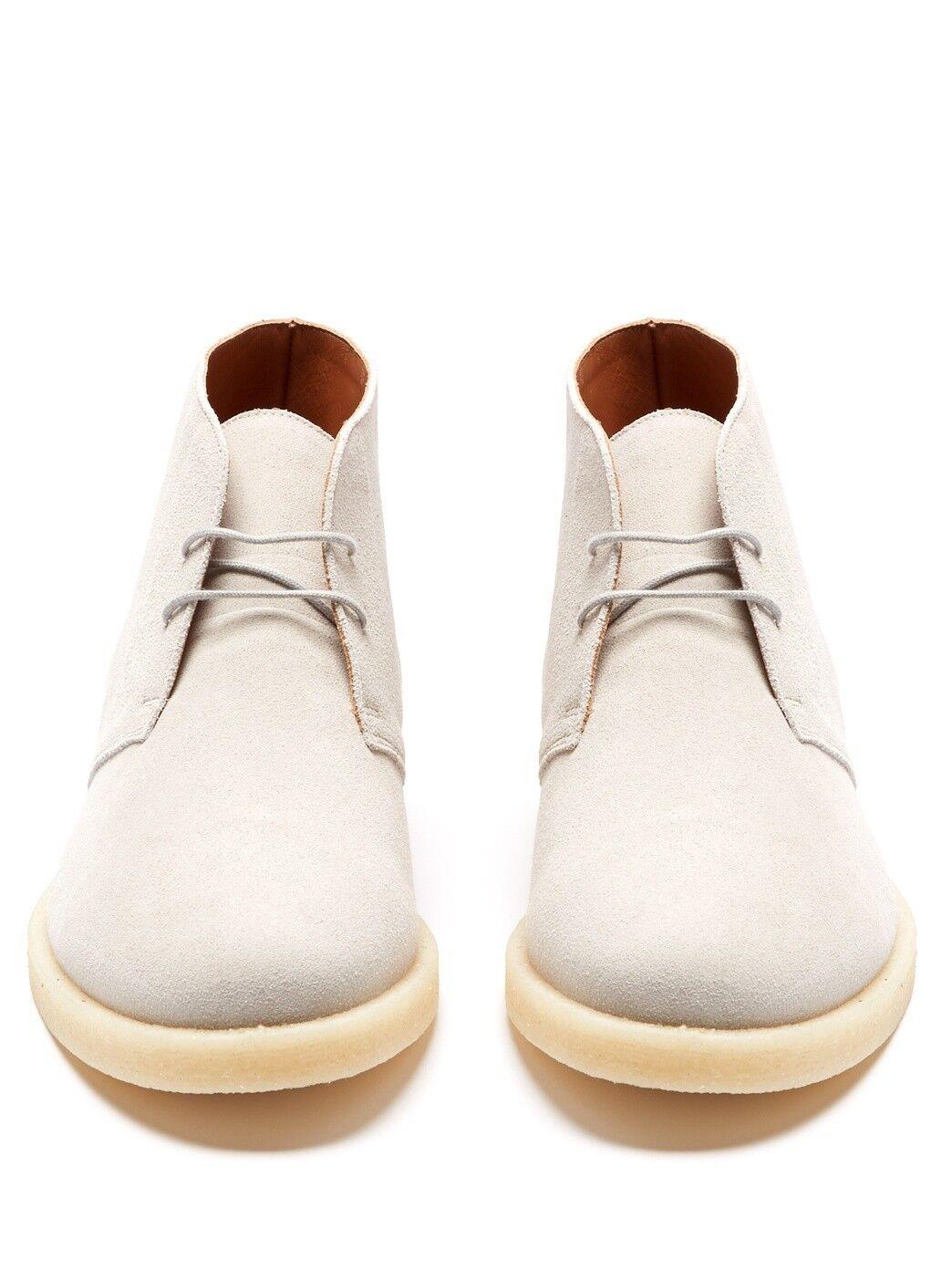 Brand nouveau In Box Common Projects Suede Desert bottes Crepe Sole EU42 UK8