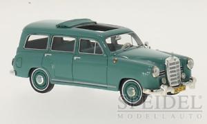 Maravilloso MODELCAR MODELCAR MODELCAR Mercedes-Benz 180D Binz Wagon-verde - 1 43 - Ed. Ltd 715200