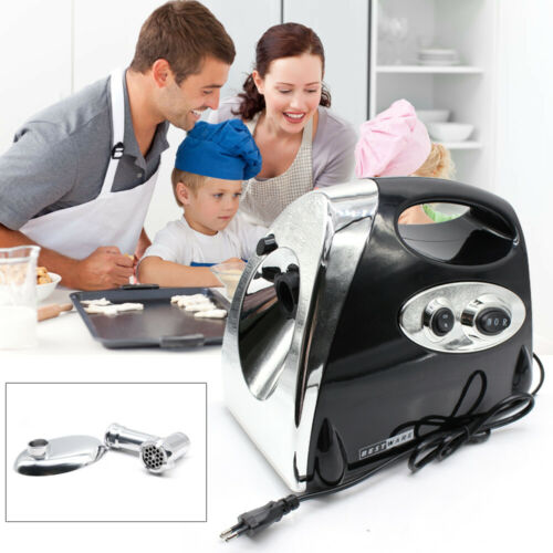 2800W ELECTRIC MEAT MINCER SHREDDER device with 3-hole discs and sausage attachment