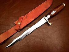 "15"" Handmade 420 High Carbon Steel Kriss Dagger-Knife-Functional-Balanced-H"