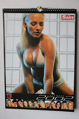 The Sun Page 3 Girls 2002 Calendar -  Rare Collectors Item (STILL SEALED!)
