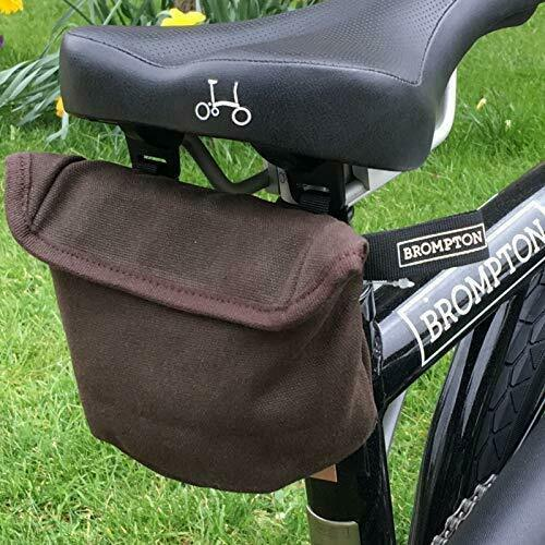 Brompton saddle pouch Waxed Canvas