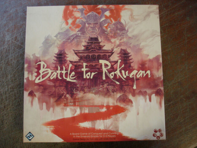BATTLE FOR ROKUGAN  STRATEGY BOARD GAME