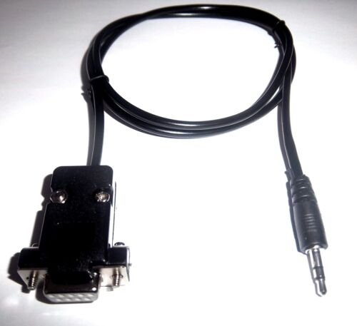 RS232 Autronic ECU de serie PC 3.5MM Jack Cable De Programa-SM2 SM3 SM4 /& EV09