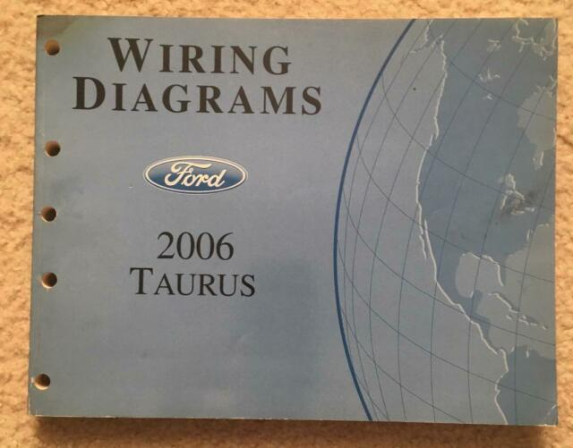 2006 Ford Taurus Wiring Diagrams Oem