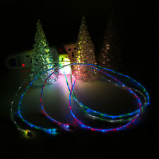 3ft/1M Dual LED Color Micro USB Charger Data Sync Cable Cord for Samgung Galaxy
