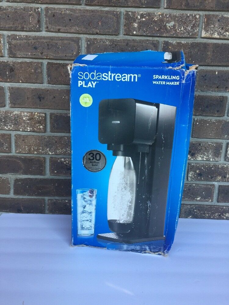 SodaStream Play Home Soda Maker with Bottle Free S h