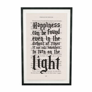 image about Printable Harry Potter named Info in excess of Artwork Print Harry Potter Dumbledor Quotation Print upon E-book Web page in opposition to Philosopher Stone