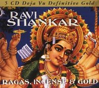 Ravi Shankar - Ragas Incense & Gold [new Cd] Germany - Import on sale
