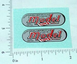 Doepke Bulldozer Replacement Sticker Set       DP-001