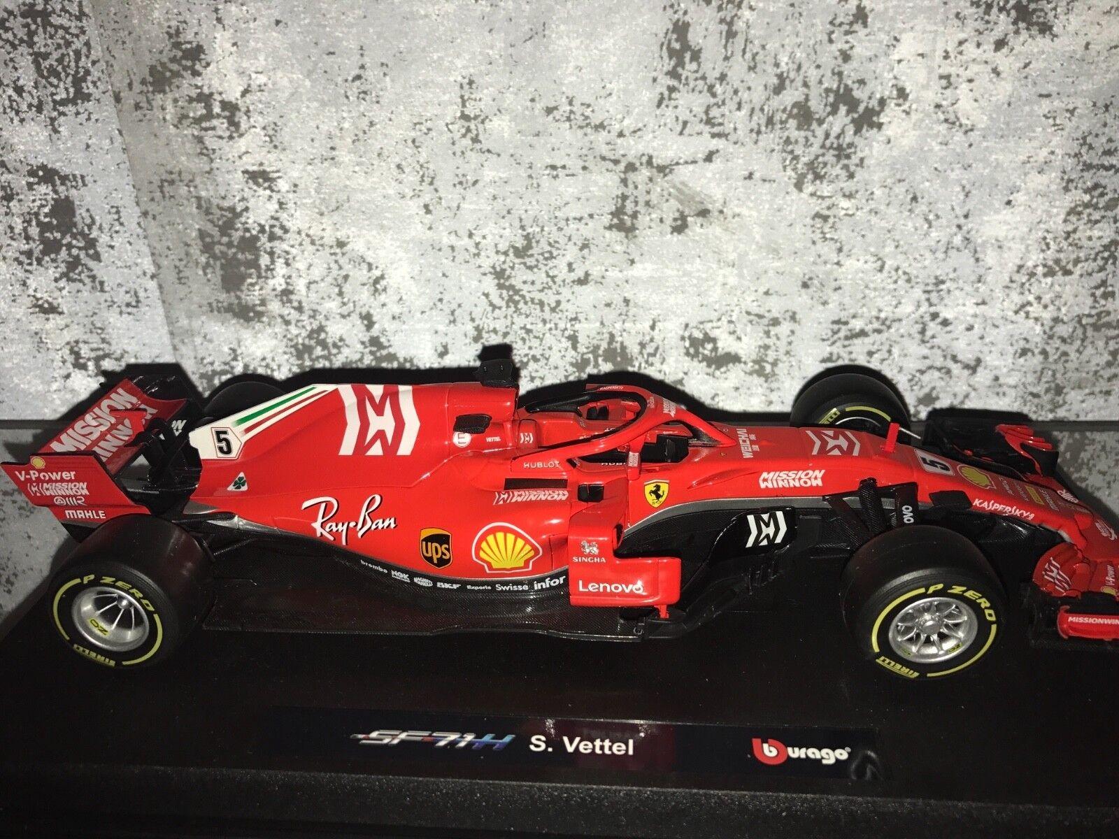 Ferrari sf 71 vettel mission win 1 18 2018   ferrari vettel 2018