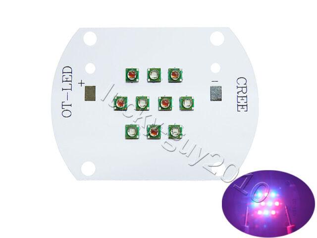 30W Cree XP-E Red(5pcs)+Blue(5pcs) Plant Grow XPE LED Light DC24V-26V 0.35A~1A