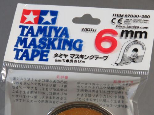 TAMIYA MASKING TAPE 6mm finishing adhesive tape thin strong models USA TAM87030