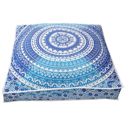 Square Indian Mandala Bohemian Cushion Case Soft Sofa Throw Waist Pillow Cover