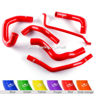 6PCS-05-06-FORD-MUSTANG-GT-Shelby-5-4-SHELBY-V8-SILICONE-RADIATOR-COOLANT-HOSE