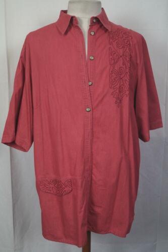42,46,48,52 Neu mit Etikett XXL Mode rot Ria Sportswear Damenbluse Hemd Gr