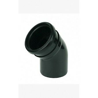 """4/"""" External Or Internal Use Black Soil Pipe and Ring Seal Fittings UPVC 110mm"""