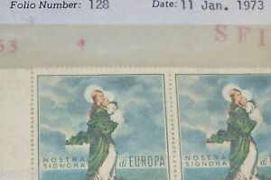 SAN MARINO MINT EUROPA 653 MNH STRIP OF 5 RARE