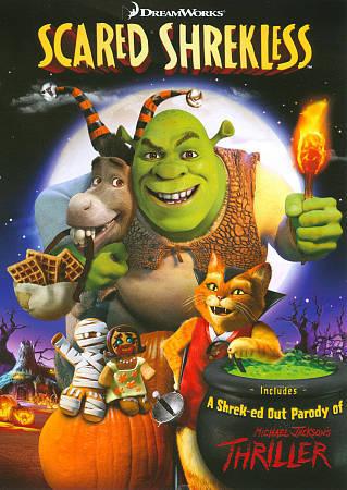 Scared Shrekless DVD, 2011  - $1.00