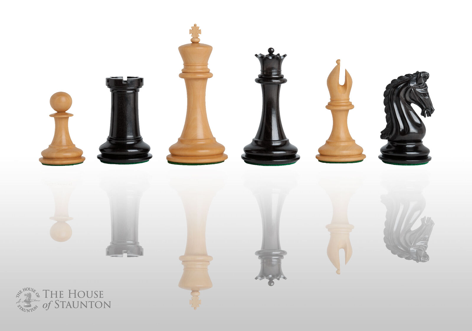USCF Sales The Imperial Collector Luxury Chess Set - Pieces Only - 4.0  King - G