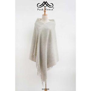 Posh-Fleece-Australian-Merino-Wool-Scarf-200CM-x-70CM-Soft-Fashion-Warm-SH1008