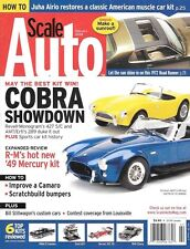 Scale Auto Enthusiast Feb 2008 Revell Monogram Cobra Camero 49 Mercury Kit