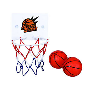 Bath Time Shoot Out Basketball Set - Kids Bedroom Door Office Mini Wall Hoop