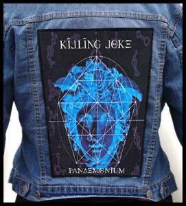 KILLING-JOKE-Pandemonium-Giant-Backpatch-Back-Patch